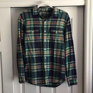 *VINTAGE LOOK* J. Crew Flannel Shirt